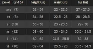 Abercrombie Pants Size Chart Best Picture Of Chart