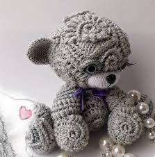 Crochet Teddy Bear Pattern Fascinating Irina Cute Freeform Crochet Teddy Lesson
