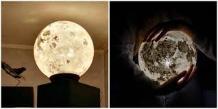 enjoy full moon every night with these lamps