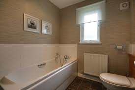 White Bathroom Suite Bathroom At Tigh Na Lochan Self Catering Aviemore