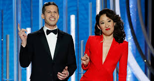 Golden Globes 2019: Sandra Oh and Andy Samberg's Opening ...