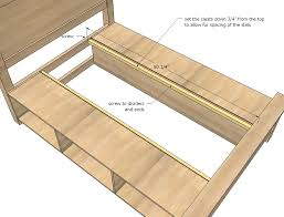 full size storage bed plans. King Full Size Storage Bed Plans A