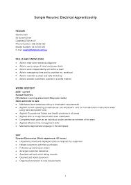 construction apprentice resume