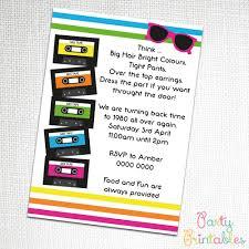 part invites retro party invites images invitations ideas on retro pool party