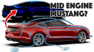 Mustang Designer Designer Creates Mid Engined Ford Mustang C8 Competitor