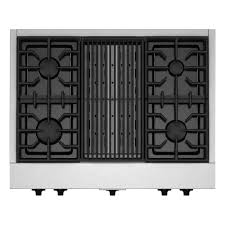 gas cooktop with grill. Simple Cooktop Gas Cooktop In Stainless Steel With Grill And 4 Burners Including 20000 For With E
