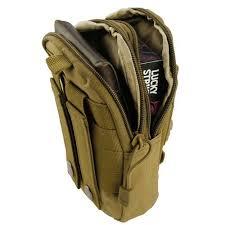 Sports Activity Belt Loop Waist Pack EDC <b>Tactical MOLLE Pouch</b> ...