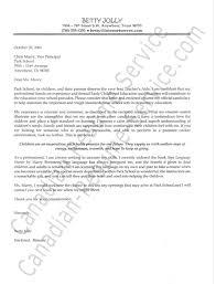 Inspiring Sample Cover Letter For Early Childhood Teacher    About Remodel  Sample Cover Letter Social Services