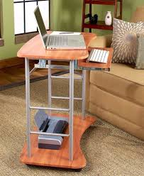 computer desk office works. Rolling Computer Desk Cart Table Stand Portable Home Office Work Space Saver NEW Works