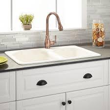 Cast Iron Kitchen Sinks  Signature Hardware30 Inch Drop In Kitchen Sink