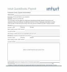 Deposit Templates Direct Deposit Authorization Form Template Bank Free