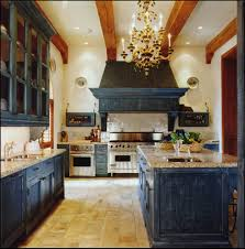 Kitchen:Old Style Kitchen Design With Black Kitchen Cabinet And Beautiful  Gold Chandelier Ideas Best
