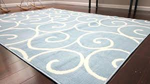 blue pattern rug radiance art collection contemporary modern white light wool area rugs x blue pattern rug