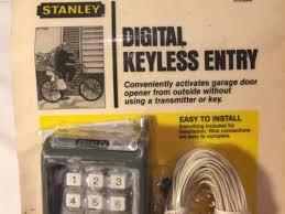 garage door keyless entryStanley 3702069 Digital Keyless Entry Keypad Garage Door Opener
