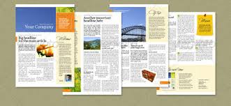 Newsletter Templates Pages 4 Pages Newsletter Magdalene Project Org