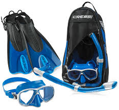 Cressi Palau Fin And Mask Snorkel Set Kirk Scuba Gear