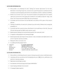Piping Supervisor Resume Construction Supervisor Resume Format