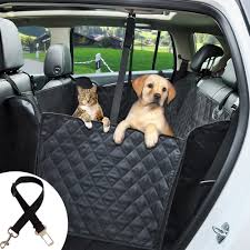 ephram dog car seat cover universal safety pet car back seat covers dogs car seat protector adjustable travel pets cat car backseat bench hammock mat