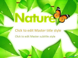 Ppt Templates Microsoft 2010 Free Nature Animated Templates Template Microsoft Powerpoint 2010