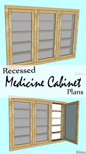 Tools Needed To Build Cabinets Recessed Medicine Cabinet Her Tool Belt