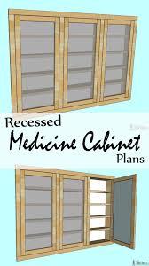 Recessed Bathroom Medicine Cabinets Recessed Medicine Cabinet Her Tool Belt