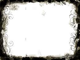 Black White Swirls Frame Backgrounds For Powerpoint Border And
