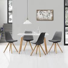 landhaus tisch mit stühle weiss kiefer massiv bei casa de mobila