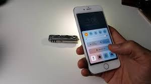Turn On Light Flashlight How To Turn On Off Flashlight With Shortcut Iphone 6 6 Plus