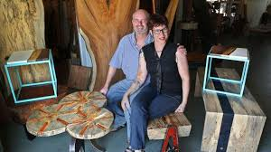 Tampa Bay <b>woodworkers</b> use local trees to make <b>furniture</b> and art