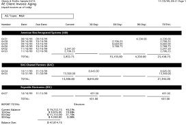 Aged Accounts Receivable Clients Profits X User Guide Client Account Aging