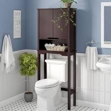 Image Small Bathroom Arielle 2588 Wayfaircom Over The Toilet Storage Cabinets Wayfair