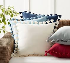 tassel throw pillow. Unique Throw Tassel Trim IndoorOutdoor Pillow Throughout Throw