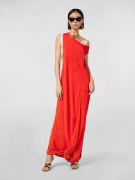<b>Платье</b> Из Креп Джерси с <b>Принтованным</b> Нижним Топом из ...