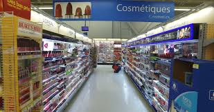 montreal canada august 2016 cosmetics department at walmart smooth steadicam display 4k uhd 4096 x 2160 stock fooe video 18960134 shutterstock