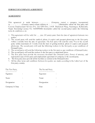 24 Beautiful Sample Agreement Letter Between Two Parties For Payment ...