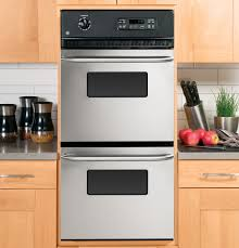 Gas Double Oven Wall Gear 24 Double Wall Oven Jrp28skss Ge Appliances