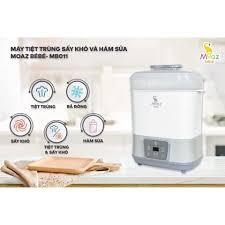 Máy tiệt trùng sấy khô và hâm sữa Moaz Bebe MB - 011 chính hãng 1,310,000đ