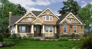 Craftsman House Plans   Cottage house plans    New Craftsman House Plans