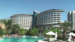 Hotel Royal Star Royal Wings Hotel Antalya Lara Youtube