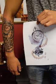 Clock Tattoo Desing Tatuaggi Orologio Tatuaggi Braccio Tatuaggi