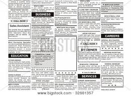 Newspaper Classified Ads Template Best Photos Of Newspaper Ad Template Advertisements For
