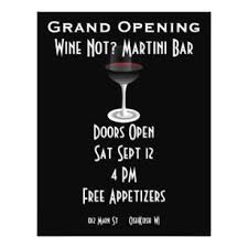 bar grand opening flyer grand opening flyers zazzle