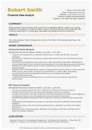 Reporting Analyst Resume New Reporting Analyst Financial