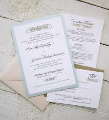 Baroque Wedding Invitations Baroque Wedding Invitations Vintage Glamour Gold Border Elegant