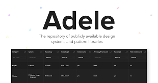 Design System E 900 Font Free Download Adele Design Systems And Pattern Libraries Repository