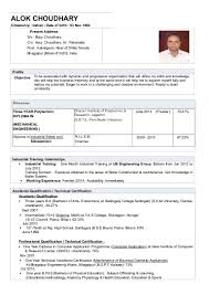 Nice Resume For Engineers In India With Resume For Mechanical ...