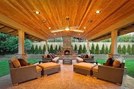 covered patio lights. Backyard Covered Patio Wood Lights N