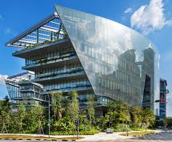 glass facade design office building. Lucasfilm\u0027s New Singapore Headquarters Is A Giant Glass Sandcrawler! Facade Design Office Building P