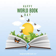 reading open book cartoon realistic background with open book and erflies vector of reading open book