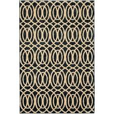 waves navy striped nylon blue gold area rug and red
